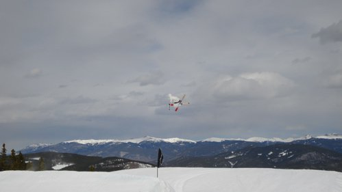 Everly Gohman 3rd Jump at Breck....