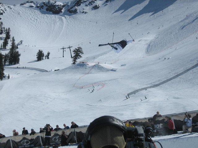 Dumont on ski tour