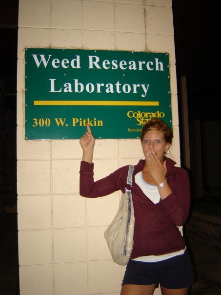 Yes, csu has a weed research center