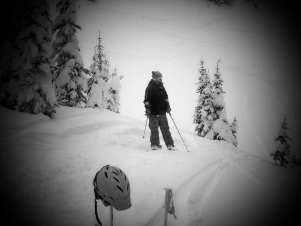 BC Powder Day Epic