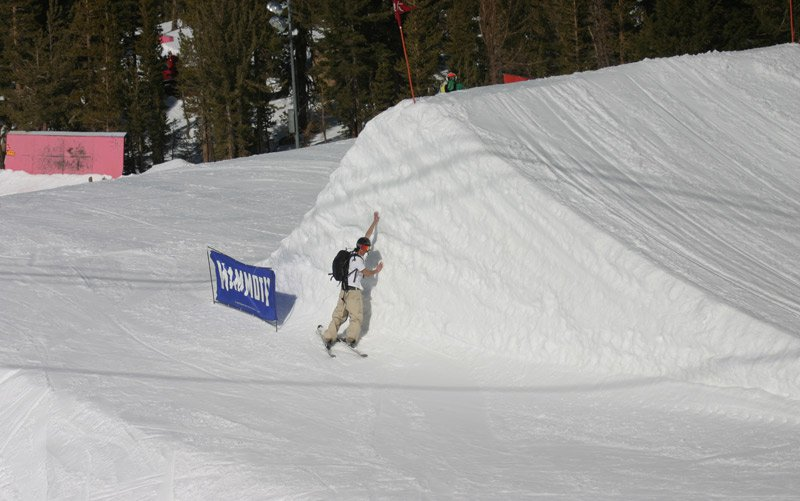Large jump in main park