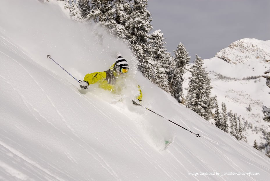 Early chair @ alta