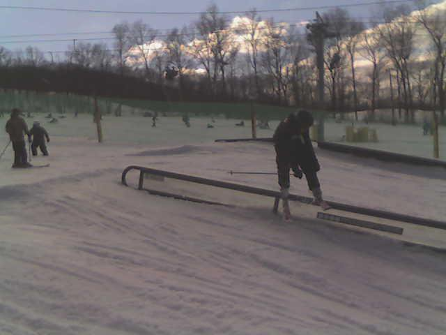 Another rail at creek