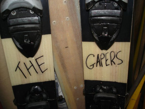 The gapers