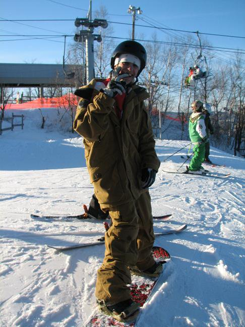 Dom in snowboard???