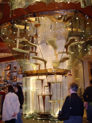Worlds largest chocolate fountain