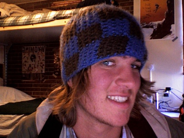 Checkerboard Hat