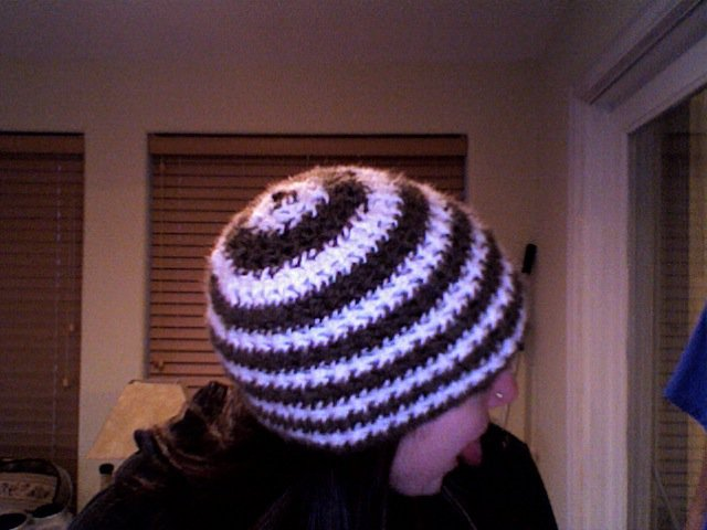 Stiped hat