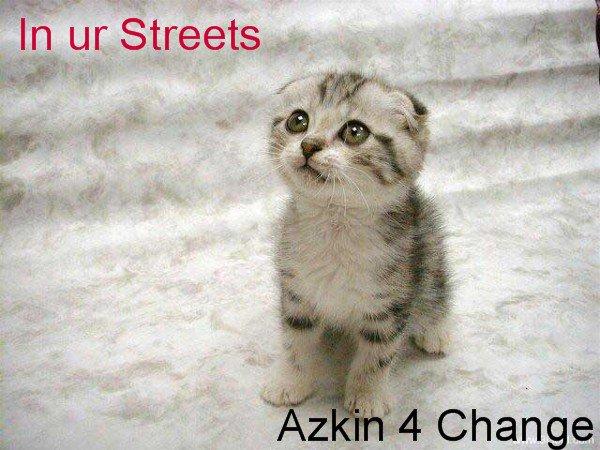 Azkin for change