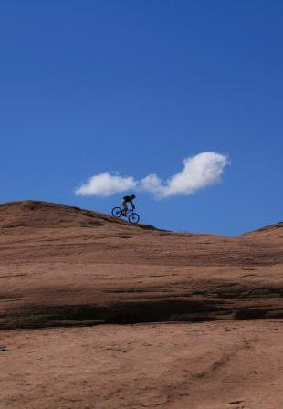 Riding Slickrock