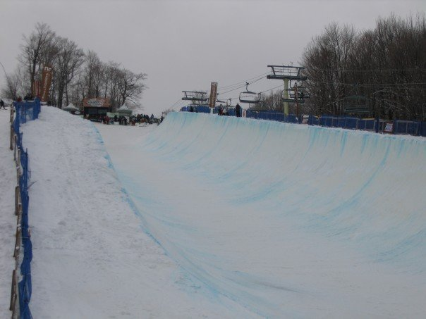 View of VT Open Pipe
