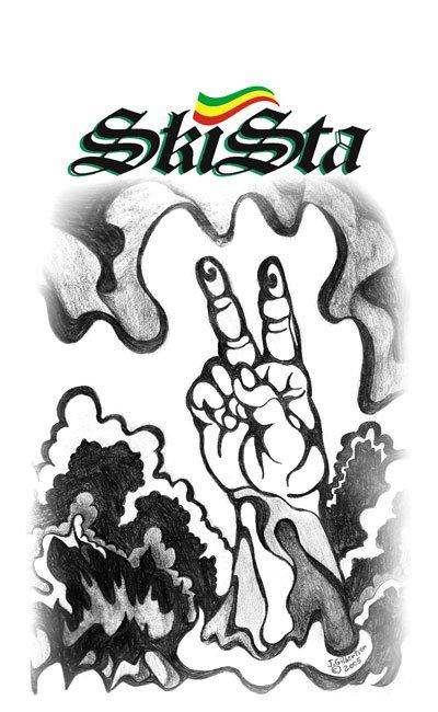 Skista Productions T shirt Design
