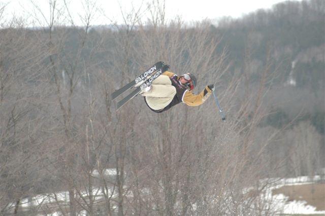 Skiing at MSLM