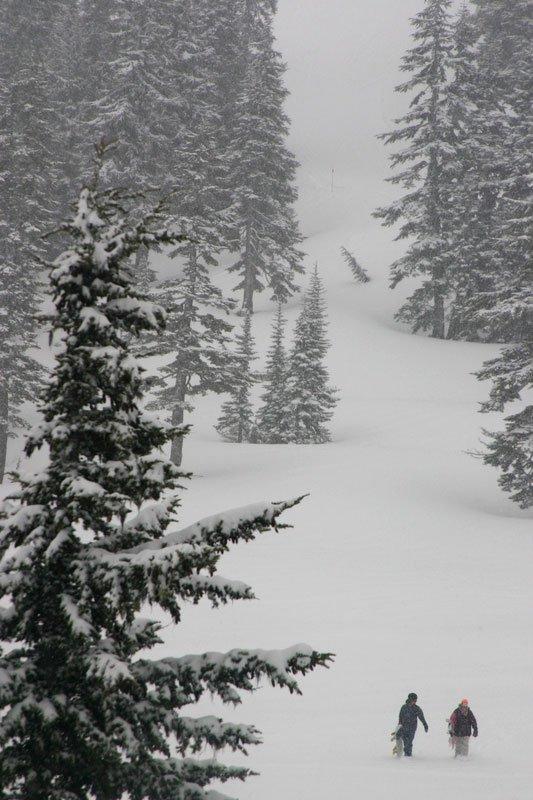 April 1st at Mt Baker