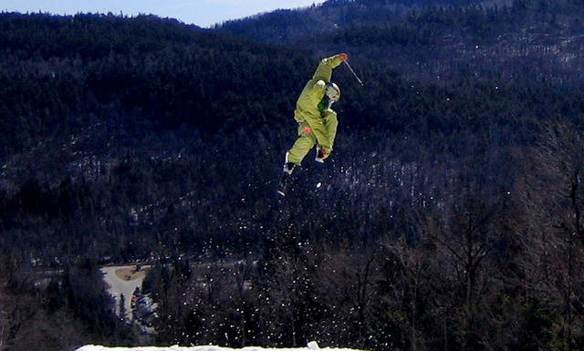 Jake jumps