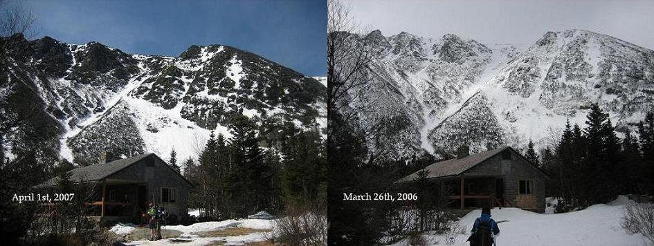 Tuckerman Ravine 2006 vs. 2007