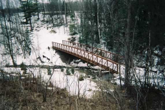 Huge Metal bridge