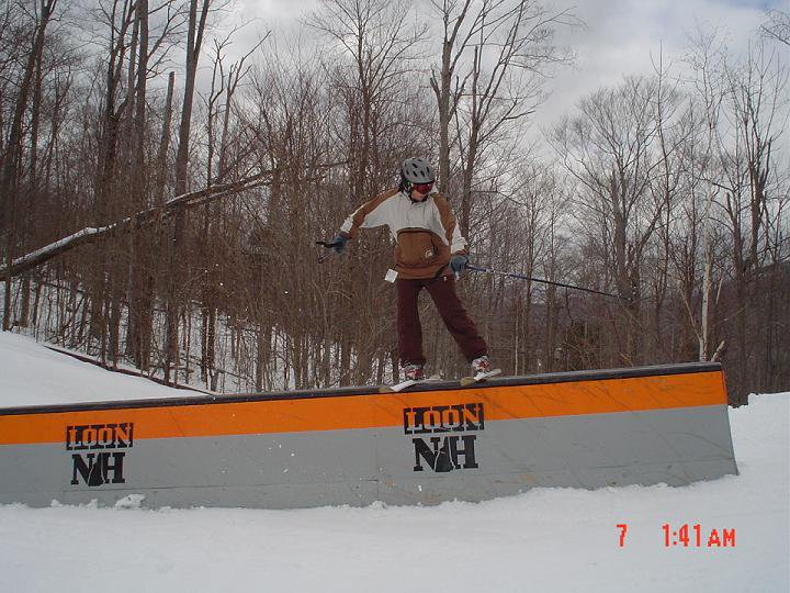 Jersey Barrier at loon