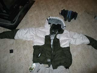 Siver stuka jacket