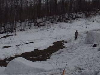 60 foot stream gap and a 10 footer stream gap