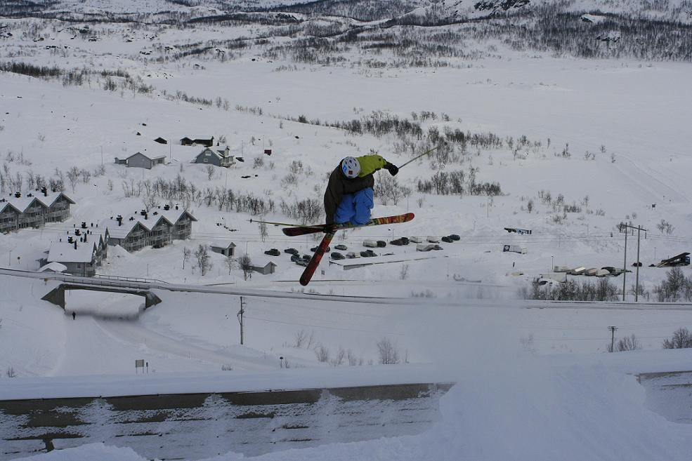 Skiing is sweet