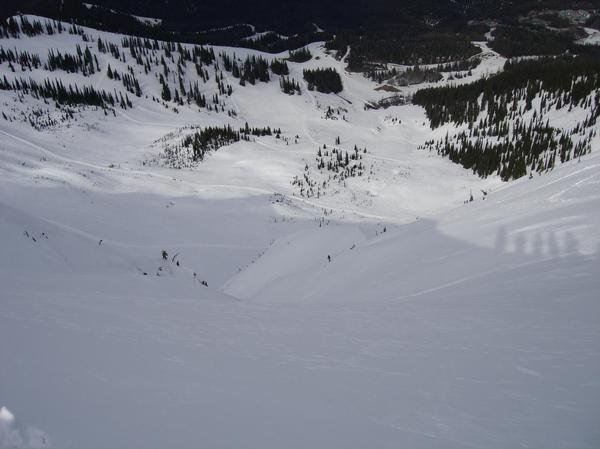 Chute i rode earlier today