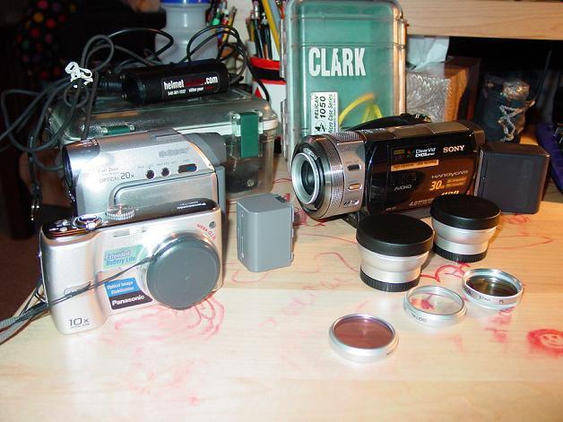 My amature camera setup