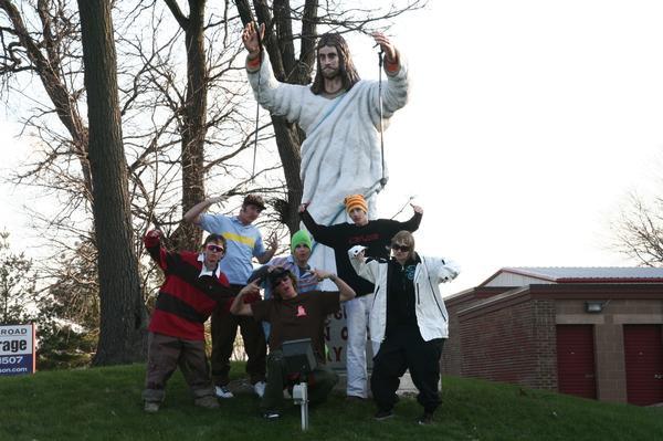 Jesus skis?!