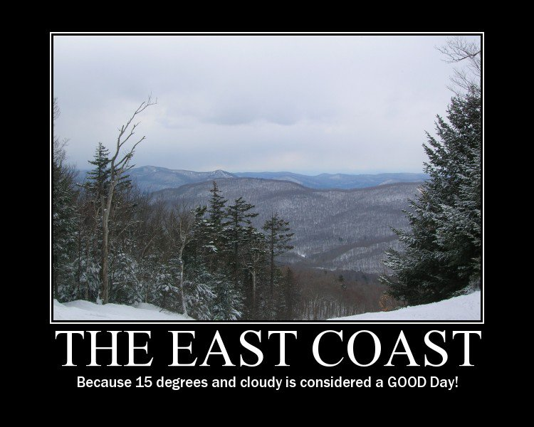 Oh East Coast