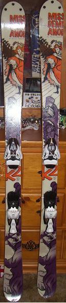 Muhh skis