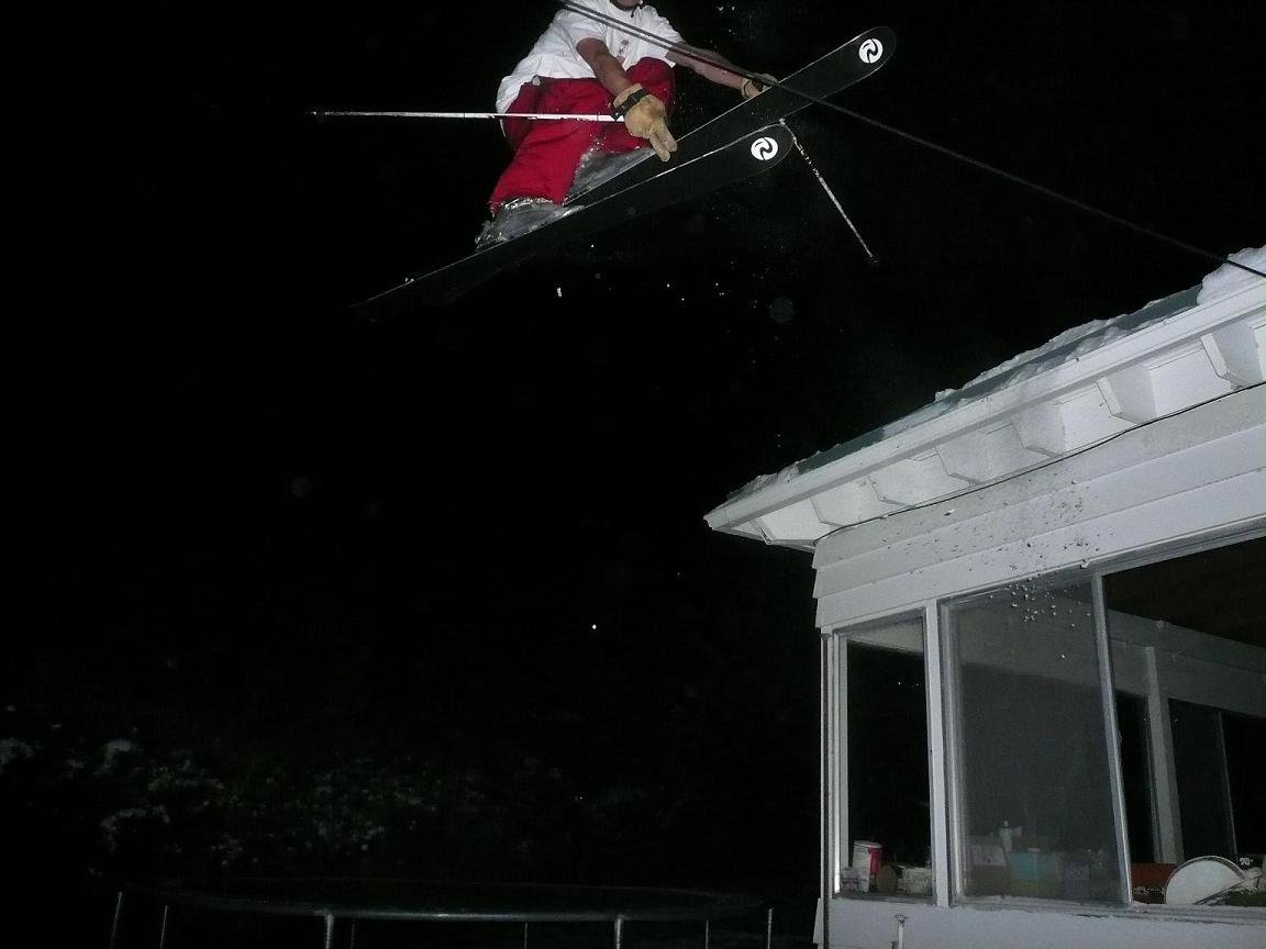 Jump off the roof