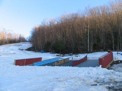 Jib Port with plenty of snow