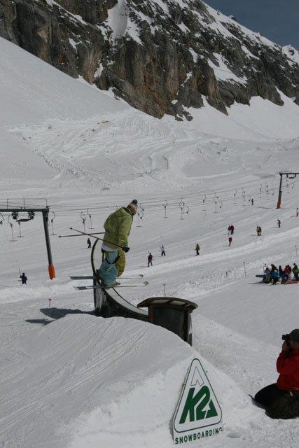 Zugspitze spring