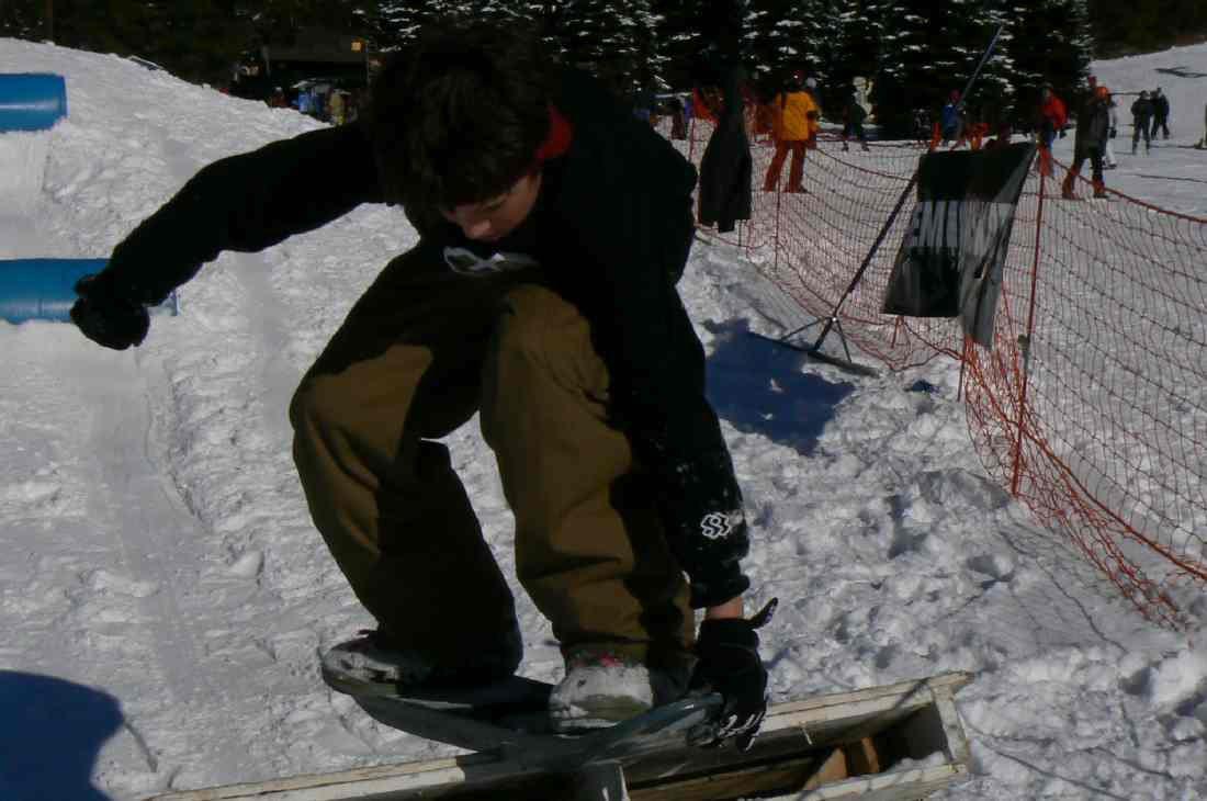Ben snow skate