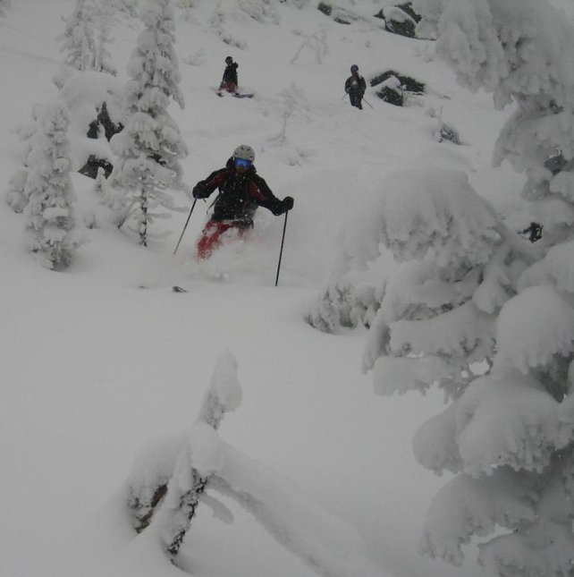 Stowe April 8th Rock Garden Pow