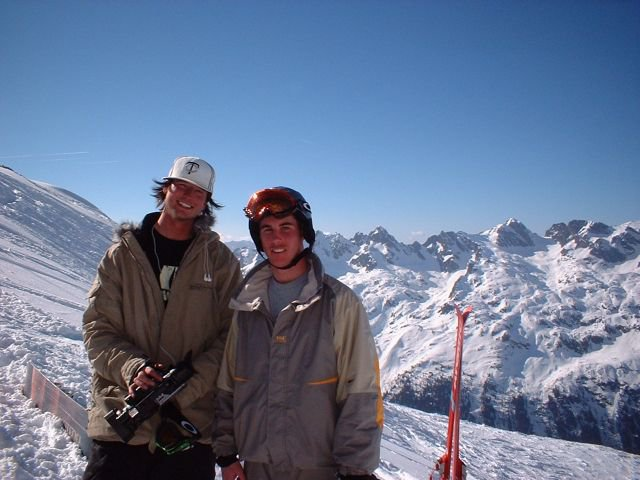 Eric Iberg & I in Chamonix