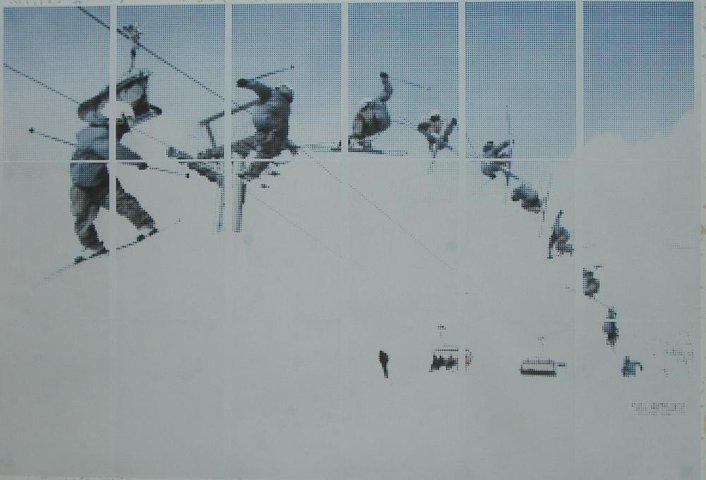 Skiing Rastration