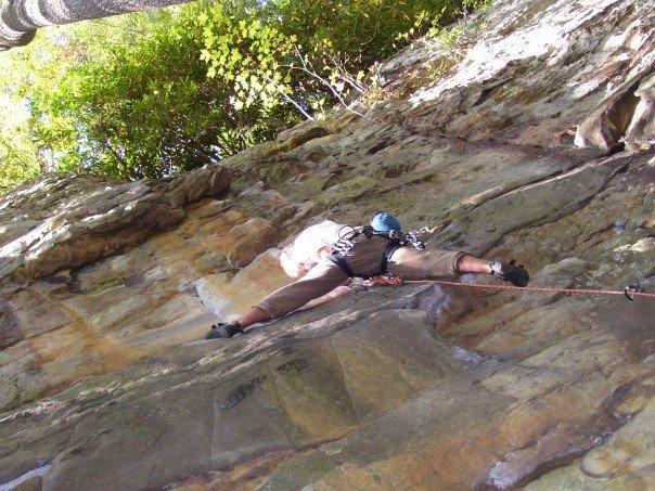 Sport climbing in West Virginia