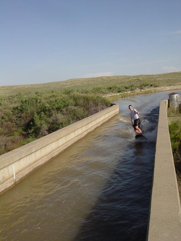 Canal boarding