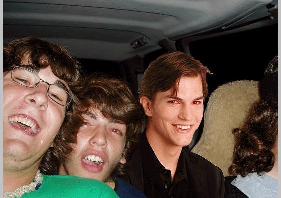 Ashton motherfuckin Kutcher