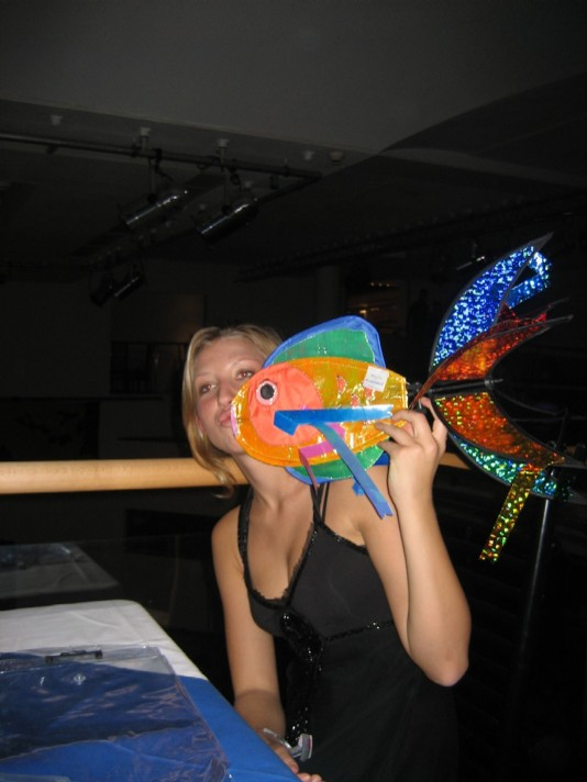 With the fish at herzjesu prom
