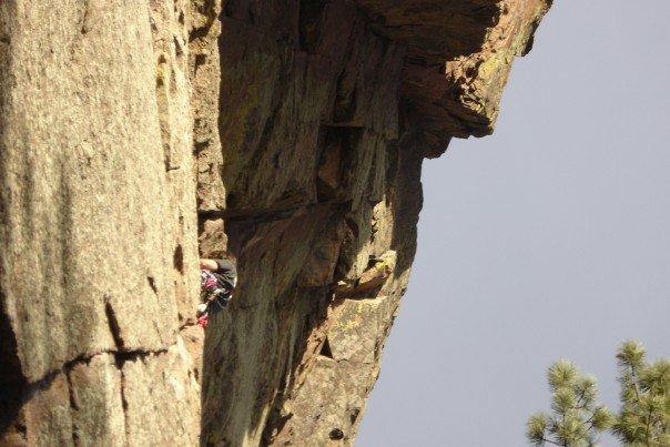 Climbing the Rincon Wall