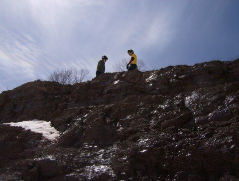 Belleayre cliff