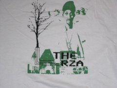The RZA green close up