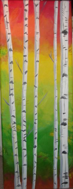 _Red_Gold_Green_Aspen_Trees_