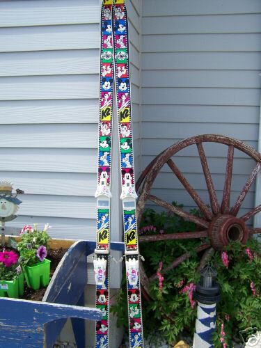 Mickey Mouse Skis?