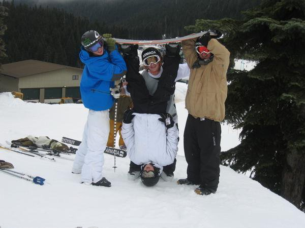 This is what we do to snowboarders
