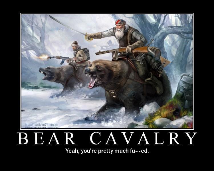 Bear Cavalry?