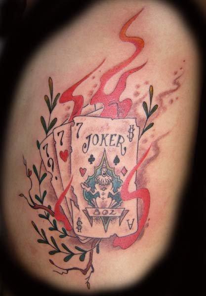Tattoo i git on my ribs