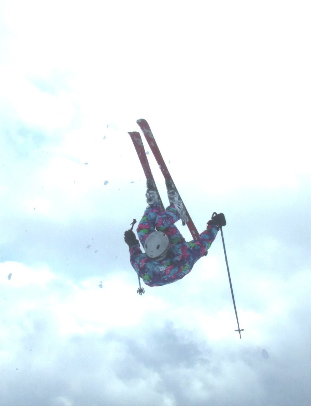 Front flip in nice outfit